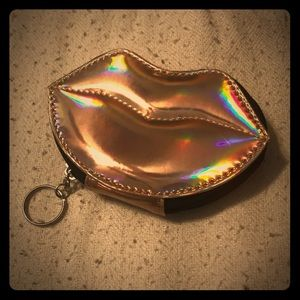 NYX Holographic-Pink lips Cosmetics Bag